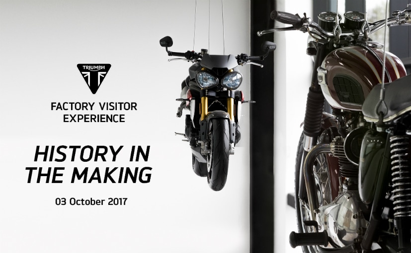 Triumph will inaugurate a new visitor centre at its headqurters in Hinckley, UK