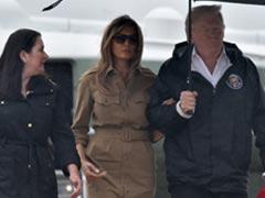 Donald Trump Flies To Harvey-Hit Texas, Louisiana Amid Difficult Recovery