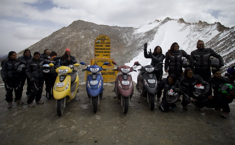 TVS completed the third season of the Himalayan Highs