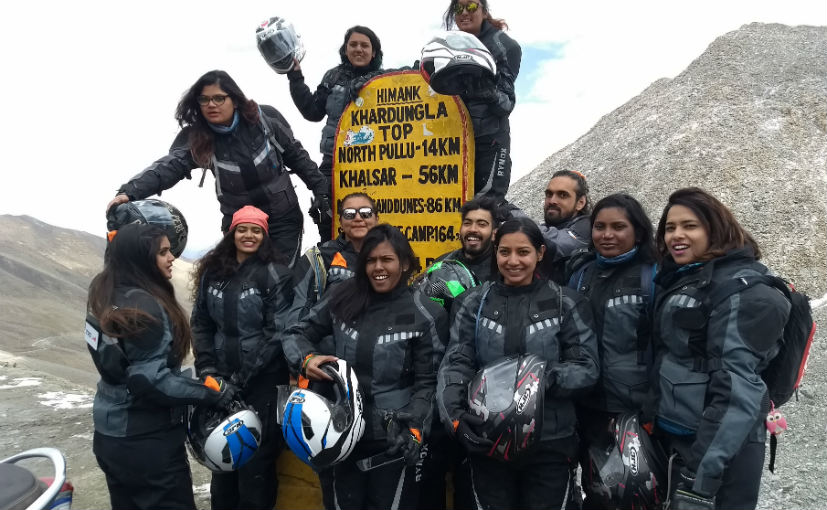 Riding a TVS Scooty Zest to Khardung La was one amazing experience