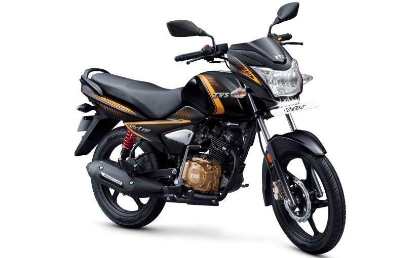 Image result for tvs victor launch year