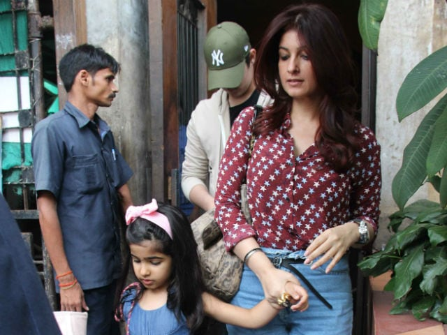 Inside Twinkle Khanna's Cute Lunch Date With Aarav And Nitara