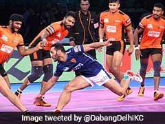 Pro Kabaddi League: U Mumba Edge Out Dabang Delhi