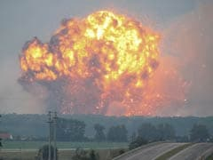 Tens Of Thousands Evacuated From Ukraine Arms Depot 'Sabotage' Blasts
