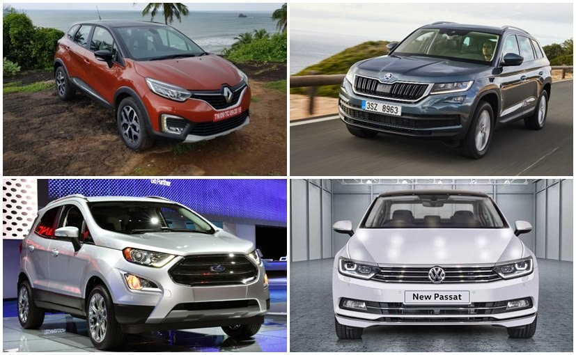 Renault Captur, Skoda Kodiaq, Ford EcoSport Facelift, Volkswagen Passat are coming this year