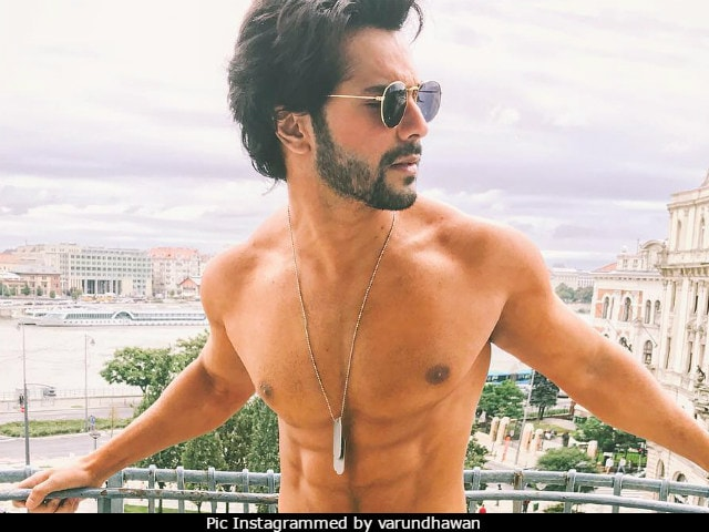 Viral: Varun Dhawan Goes Shirtless. 'In Love With The Shape Of You,' Say Fans