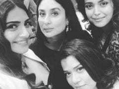 Sonam And Kareena Kapoor Start <I>Veere Di Wedding</i> With A Selfie