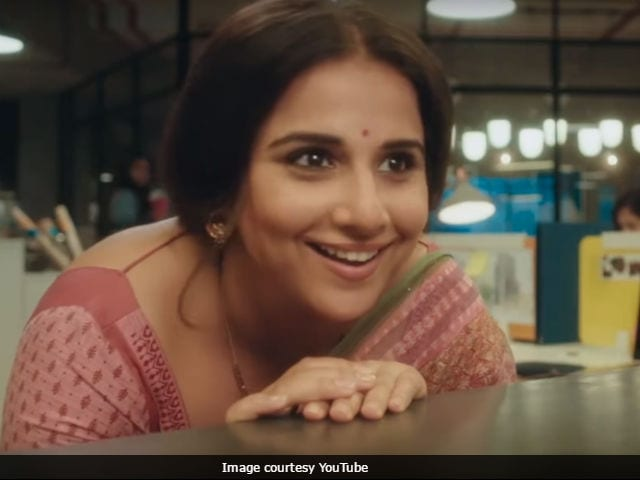 Watch Vidya Balan's charming avatar from Tumhari Sulu