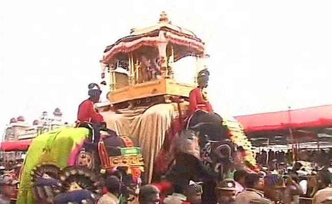 vijayadashami procession ndtv