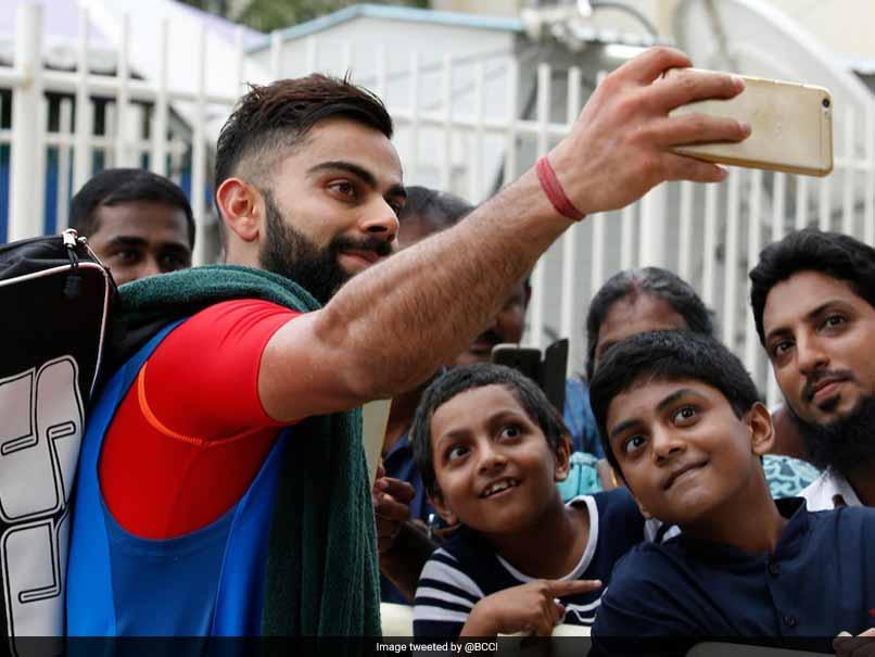 India Vs Australia: Virat Kohli Keeps His Young Fans Happy, Hopes He Inspires Them