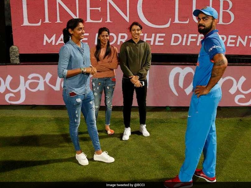 Virat Kohli Meets Indian Women Stars But All Twitter Can Talk About Is MS Dhoni