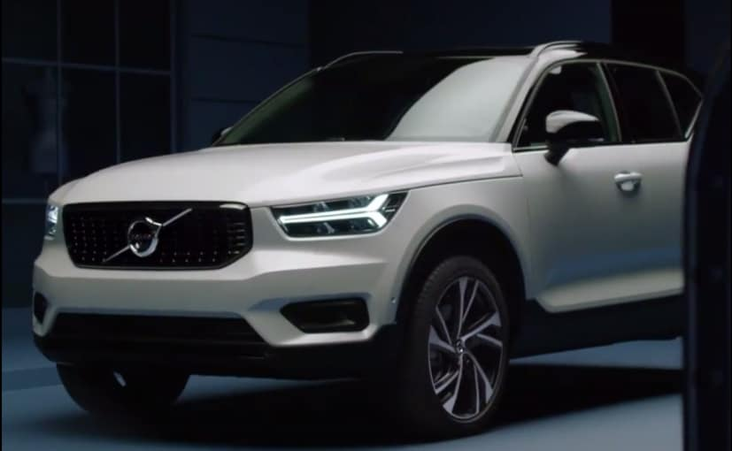 Volvo XC40 To Make Its Global Debut All You Need To Know  NDTV