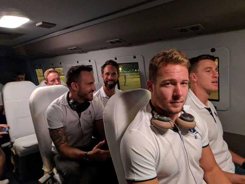 World XI Arrives In Lahore For Twenty20 Series Amid Unprecedented Security