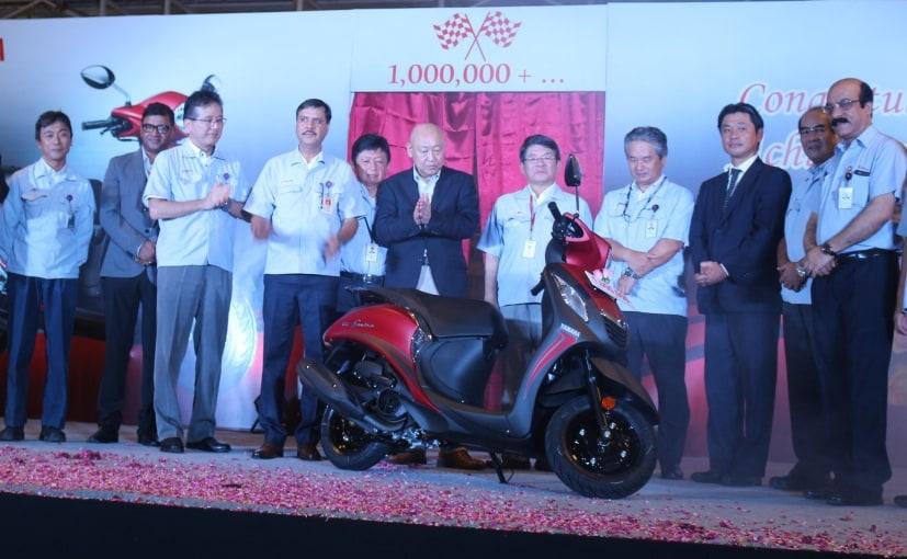 Yamaha's Chennai Plant Achieves One Million Production Milestone