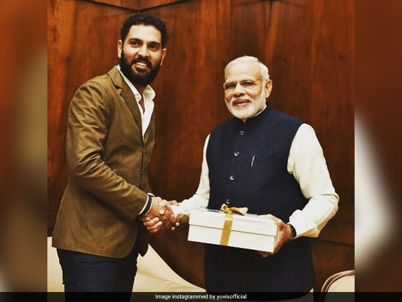 Letter From PM Narendra Modi Leaves Yuvraj Singh Elated