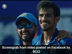 India vs Australia: Yuzvendra Chahal Can't Stop Laughing After Dismissing Glenn Maxwell Again