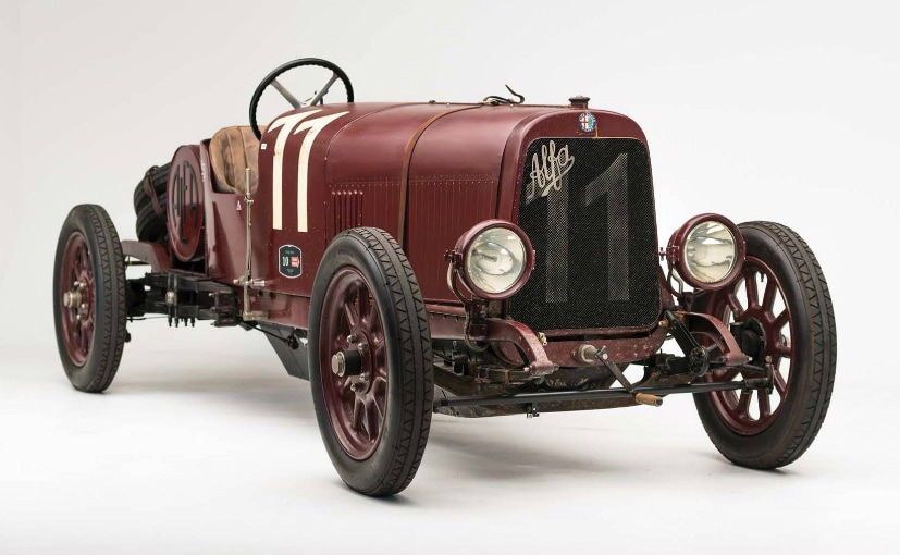 The First Ever Alfa Romeo To Be Auctioned Off
