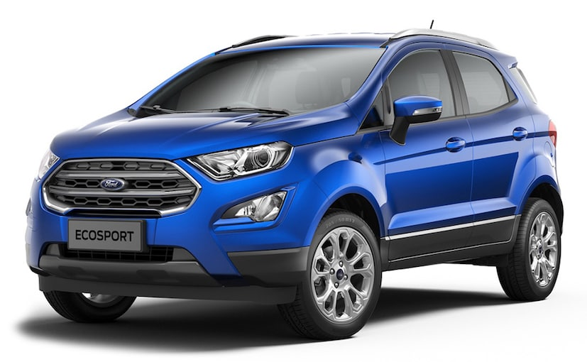 The 2017 Ford EcoSport gets revised styling and new features