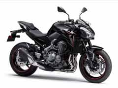 Kawasaki Z900 Launched In Pure Metallic Spark Black Colour In India