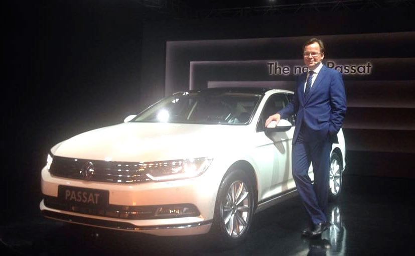 2017 Volkswagen Passat Launched In India; Prices Start From ₹ 29.99 Lakh
