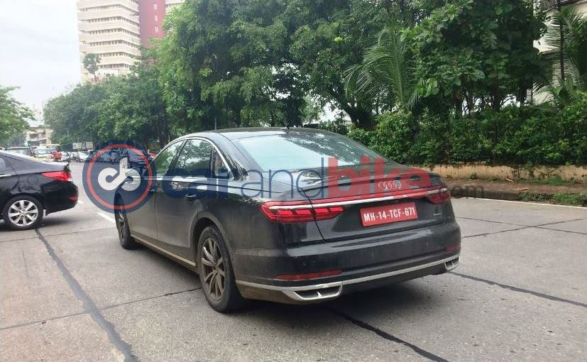 2018 audi 8. exellent 2018 audi a8 caught testing in india launch 2018 with audi 8