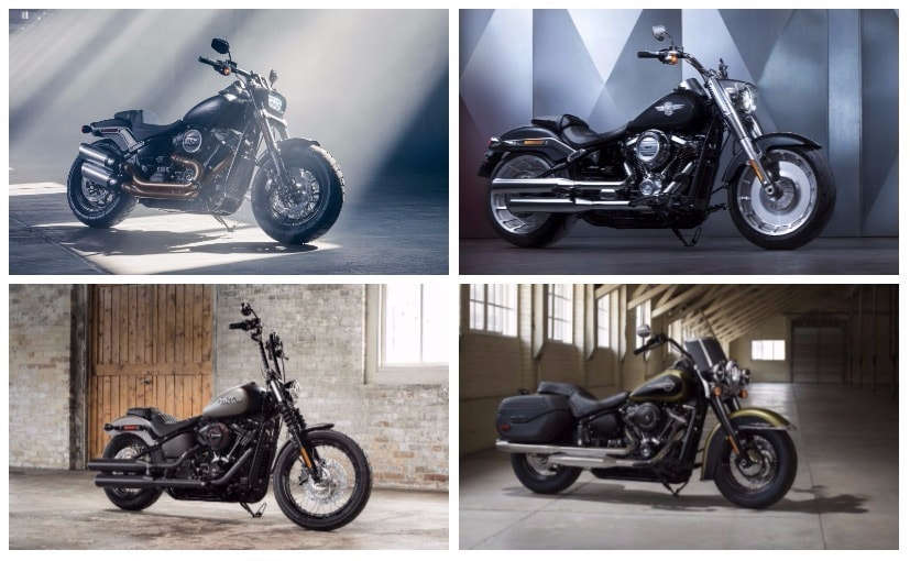 The 2018 Harley-Davidson Softail Range has been launched in India