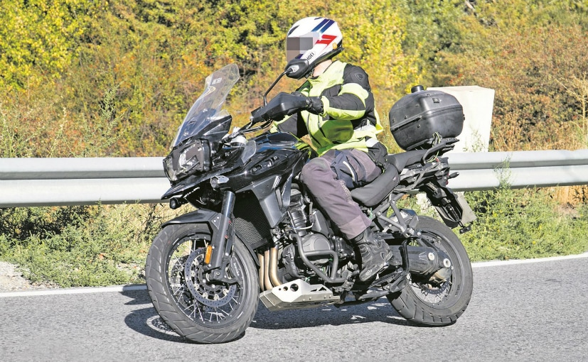 The 2018 Triumph Tiger Explorer was spotted undergoing test runs in Spain recently