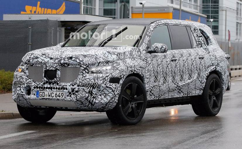 Next Generation Mercedes Benz Gls Spied Testing Online