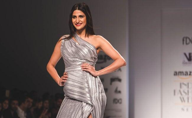 Amazon India Fashion Week Day 02: Aahana Kumar For Nikhita Tandon