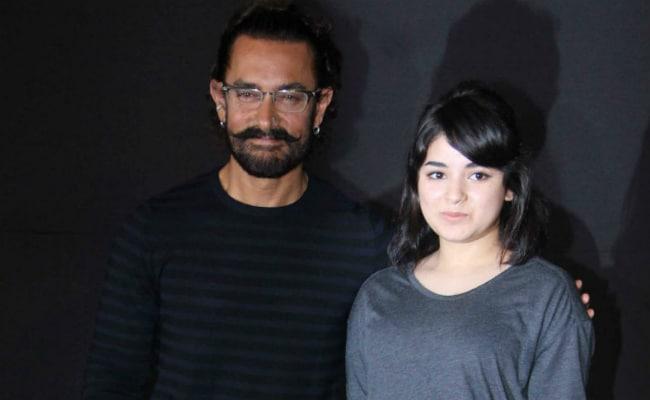 Aamir Khan Crowns Zaira Wasim As The Secret Superstar Of Bollywood