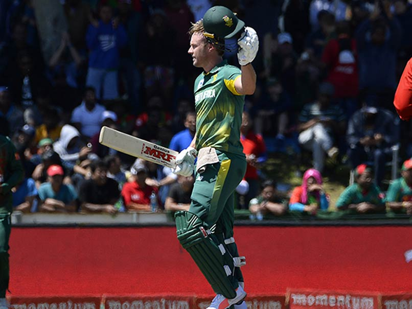2nd ODI: Brilliant AB De Villiers Leads South Africa To 104-Run Win Over Bangladesh