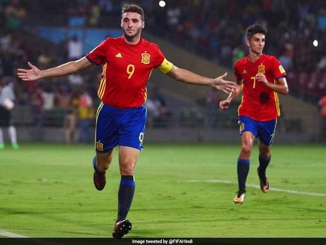 U-17 WC: Abel Ruiz Strikes Twice As Spain Beat Mali To Enter Final