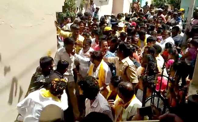 Serial Offender And Actor Balakrishna Filmed Slapping Another Fan