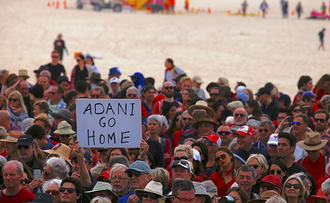 Thousands Protest Across Australia Against Adani's Coal Mine Project