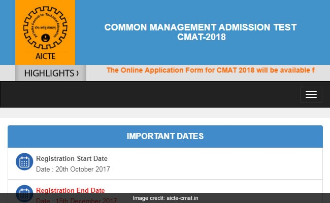 CMAT 2018 Online Registration To Begin Soon @ Aicte-cmat.in, Check Details Here
