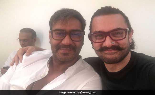आमिर खान और अजय देवगन के बीच न कोई 'सीक्रेट' न 'गोलमाल', ये रहा सबूत