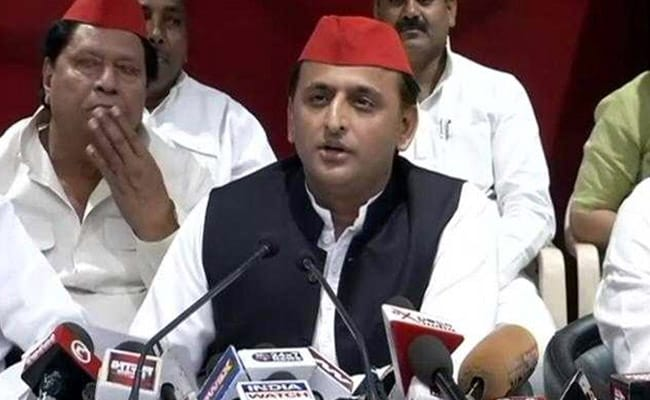 BJP Government Doing Divisive Politics To Distract People: Akhilesh Yadav