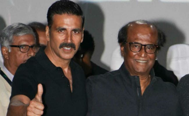 2.0: Akshay Kumar's 'Thankful' To Work With Superstar Rajinikanth