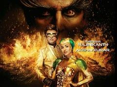 <I>2.0</i> Poster: Rajinikanth, Akshay Kumar, Amy Jackson's Blazing Look Needs A Cold Shower