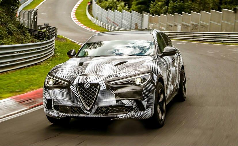 Alfa Romeo Stelvio Quadrifoglio Is Now The Fastest Suv At
