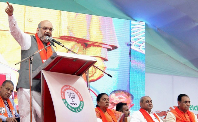Congress Answerable For Generations Of Injustice In Gujarat: Amit Shah