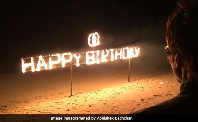 Inside Amitabh Bachchan's Birthday Celebration In Maldives