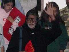 75वां बर्थडे सेलिब्रेट कर मुंबई लौटे अमिताभ बच्चन, साथ दिखीं नातिन नव्या और पोती आराध्या