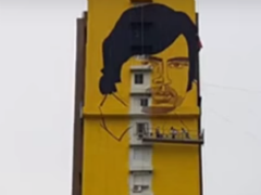 Amitabh Bachchan's Supersize Birthday Gift - A 230-Foot Mural In Mumbai