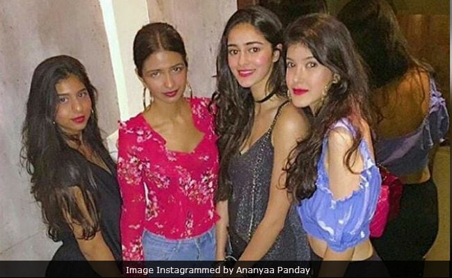 Ananya Pandey Celebrates Birthday In Style With BFFs - Suhana Khan And Shanaya Kapoor