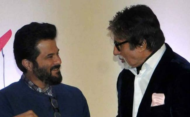 'Amitabh Bachchan, You Are Magnificent On Screen Even Today,' Tweets Co-star Anil Kapoor