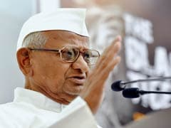 "Anna Hazare Warns Of <i> ""Maun-Vrat""</i> If No Communication From Ministry"