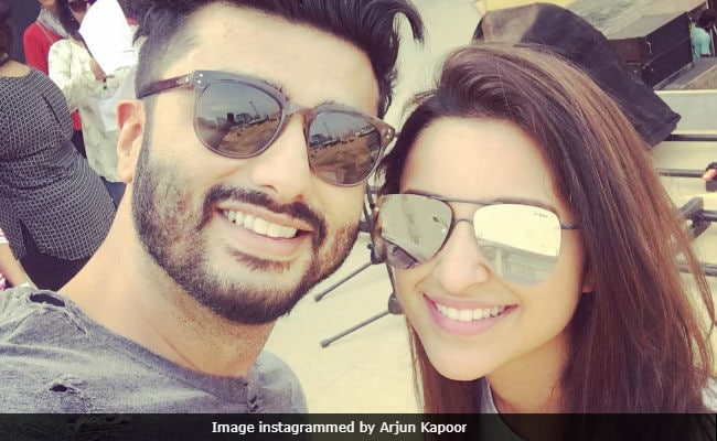 Arjun Kapoor Already Knows He'll Be Romantically Linked To Parineeti Chopra In 2018