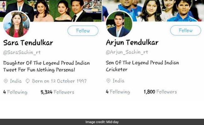 arjun sara fake twitter
