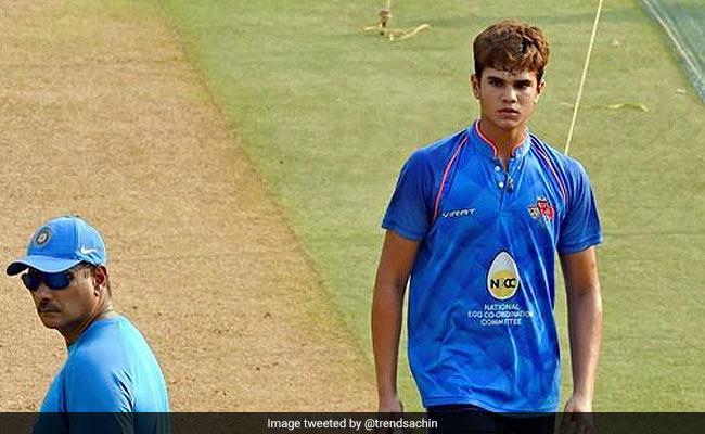 सचिन के बेटे अर्जुन तेंदुलकर का बॉल से धमाल, मध्य प्रदेश के खिलाफ झटके 5 विकेट